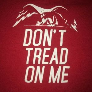 Don't Tread On Me / Get This Straight XXL T-Shirt